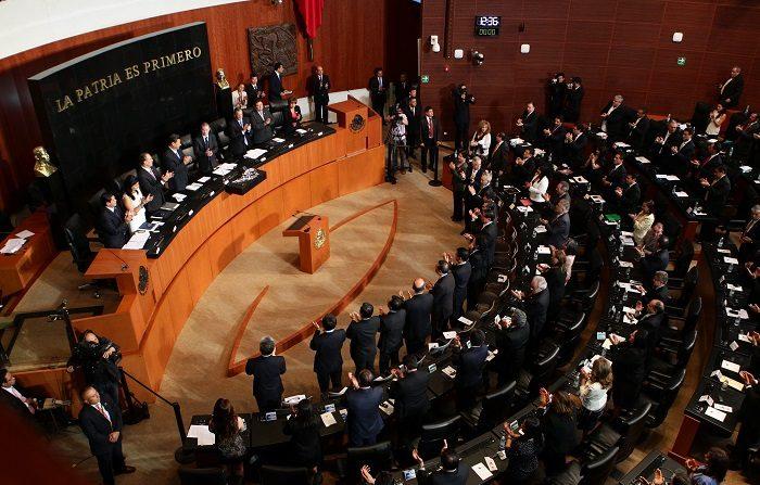 El Senado ratificó hoy por unanimidad a la diplomática de carrera Martha Bárcena como embajadora de México en Estados Unidos, informó la Cámara alta. EFE/José Méndez