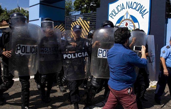 Nicaragua está inmersa en una crisis desde el estallido el 18 de abril de unas protestas que buscan la renuncia del presidente Daniel Ortega. EFE/Jorge Torre