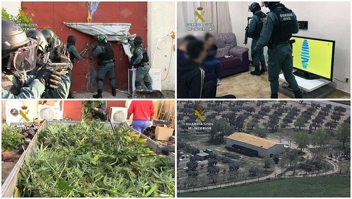 Detenidas 42 personas en dos operaciones contra tráfico de hachís en Estrecho. EFE