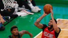 Davis gana duelo a Doncic; Pacers van en serio; Clippers, mejores que Lakers