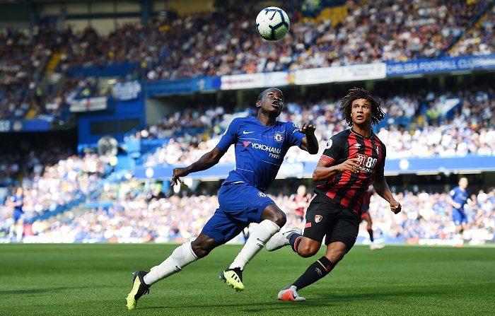 """Un gol del francés N""""Golo Kante al inicio de la segunda parte contra el Crystal Palace dio en Londres la victoria al Chelsea (0-1), que cerró el año asentado en la cuarta plaza de la Premier. EFE"""