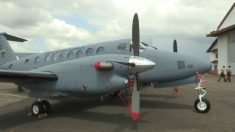Panamá recibe avión de última generación que servirá en lucha contra narcotráfico