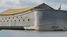 Este hombre tiene su propia Arca de Noé en tamaño real y sueña con zarpar hacia Israel