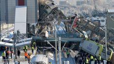 Al menos 9 muertos y 47 heridos al chocar un tren de alta velocidad en Ankara