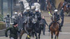 Incidentes en marcha contra pacto migratorio de la ONU en Bruselas