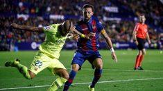 """Vidal y el 'gol regalado' a Messi ante Levante: """"Estaba mejor ubicado, traté de asegurar el pase"""""""