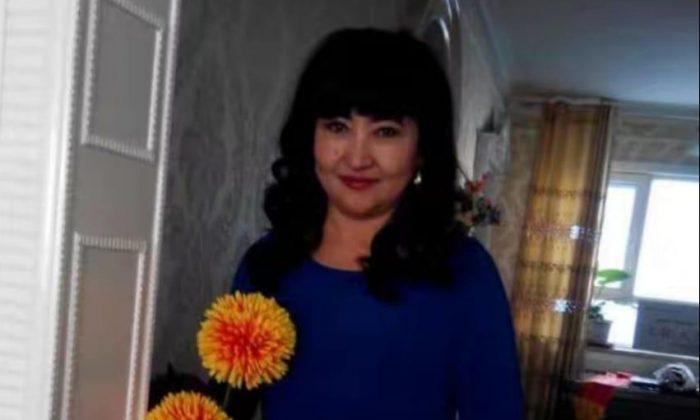 La empresaria Gulbakhar Jalilova, de 54 años, exprisionera uigur en Xinjiang, China. (Gulbakhar Jalilova)