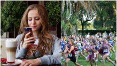 Esta adolescente sufre de epilepsia y desmayos, pero eso no le impide correr y ganar maratones