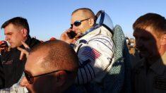 Así camina un astronauta al regresar a la Tierra tras pasar casi 200 días en el espacio