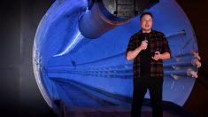 Elon Musk presenta túnel de alta velocidad que pasa por debajo de la ciudad de Los Ángeles