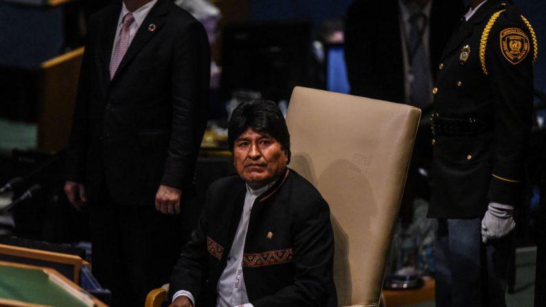 Evo Morales Ayma, presidente de Bolivia.   (Stephanie Keith/Getty Images)