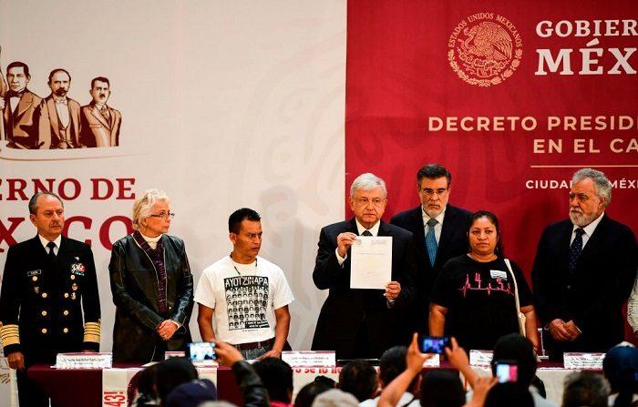 Gobierno mexicano interpone primera denuncia contra lavado de dinero