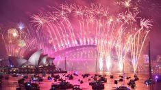 Comienzan los espectaculares fuegos artificiales del Año Nuevo 2019 con festejos en Australia y Nueva Zelanda