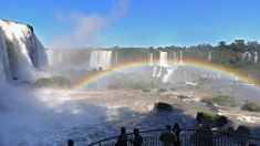 Cataratas de Iguazú bate en 2018 doble récord de visitantes y de extranjeros