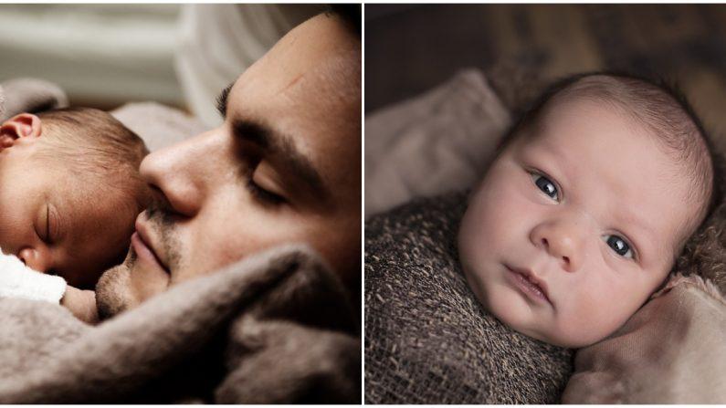 Papá le pregunta a su bebé si durmió bien y éste reacciona robando millones de corazones en Internet