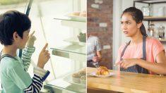 Camarera se irrita cuando un niño no se decide por el menú pero la lección que recibe la hace llorar