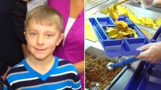 Con solo 8 años trabaja para pagar los almuerzos de sus compañeros, su humildad desata olas de bondad