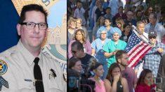 La heroica y peligrosa historia de un policía y un joven emergen de un feroz tiroteo en California