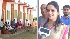 El generoso regalo de bodas de su padre hace feliz a 90 familias sin techo