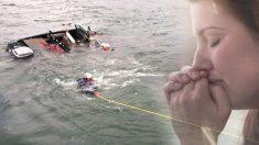 Salta al bote y se aleja del barco mientras su esposa se hunde en el mar, la razón tocará tu corazón