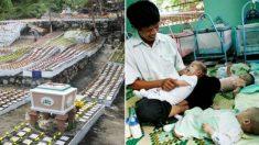 Este hombre dedicó su vida a dar sepultura a miles de bebés abortados, ahora su misión es salvarlos