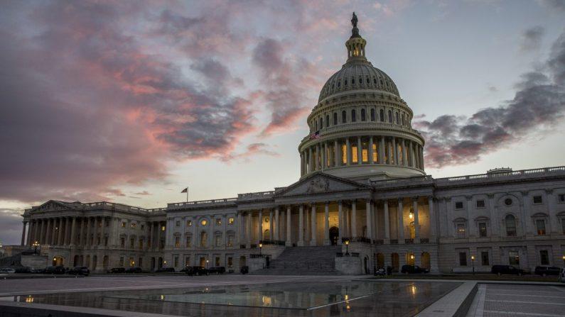 Edificio del Capitolio en Washington DC. (Samira Bouaou /La Gran Época)