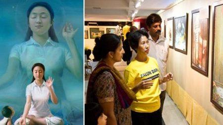 'El Arte de Verdad, Benevolencia y Tolerancia' recorre la India con un mensaje de esperanza y fe