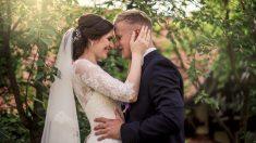 Incendio arrasó la ciudad 2 días antes de su boda, con ropa usada y donaciones fue la mejor fiesta