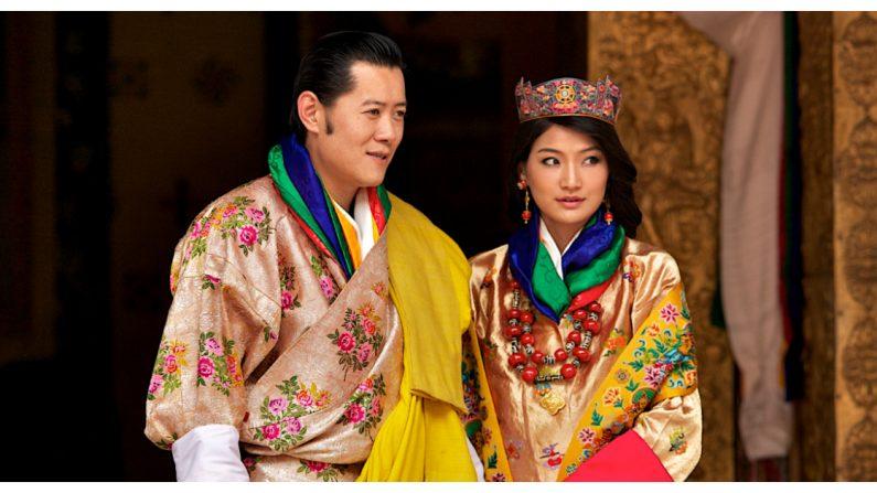 Jetsun Pema y Jigme Khesar Namgyel Wangchuck/ Triston Yeo/Getty Images