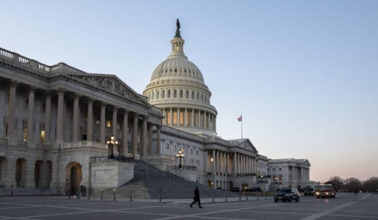 El edificio del Capitolio en Washington, el 30 de enero de 2018. (Samira Bouaou / La Gran Época)