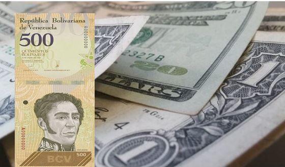 El dólar en Venezuela aumentó 6,3 millones de veces en 2018