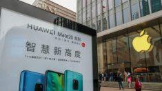 Empresas chinas convocan a comprar productos Huawei y boicotear a Apple por arresto de Meng