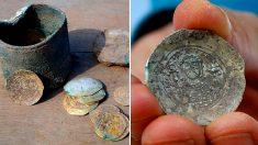 Hallazgo de inusuales monedas de oro de la época de las cruzadas en Israel desconcierta a arqueólogos
