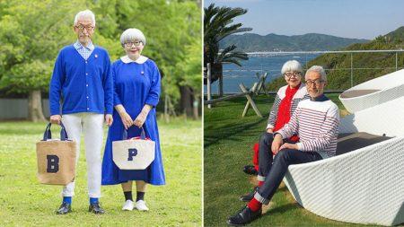 Con casi 40 años de casados son felices como niños ¡y sus trajes combinados tienen locos a Internet!