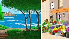 Esta genial abuela de 88 años crea obras maestras con Paint y enseña que nunca es tarde para aprender
