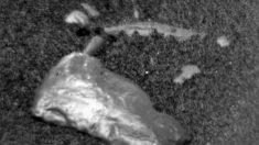 Un raro objeto brillante descubre el rover curiosity en Marte