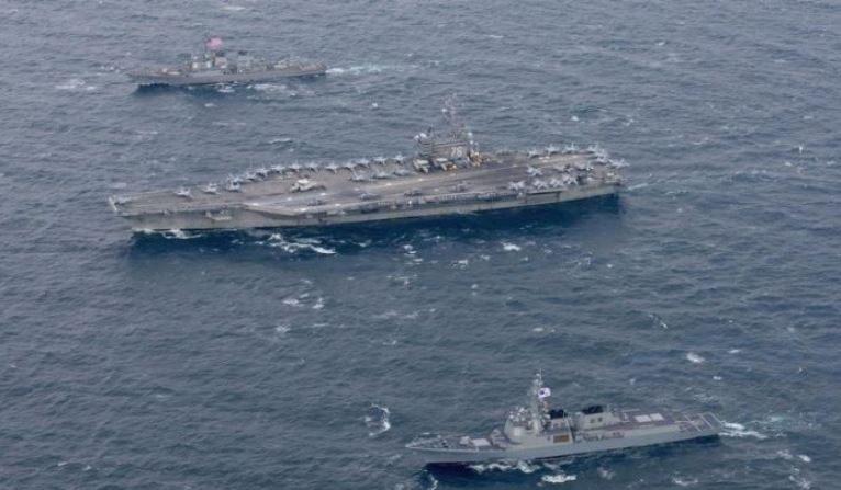 Contraalmirante chino sugiere hundir dos portaaviones para intimidar a EE. UU.