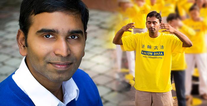Suman Srinivasan, un ingeniero en software de una de las compañías más importantes del mundo, dice cómo encontró el código para vivir feliz. (Crédito: NTD)
