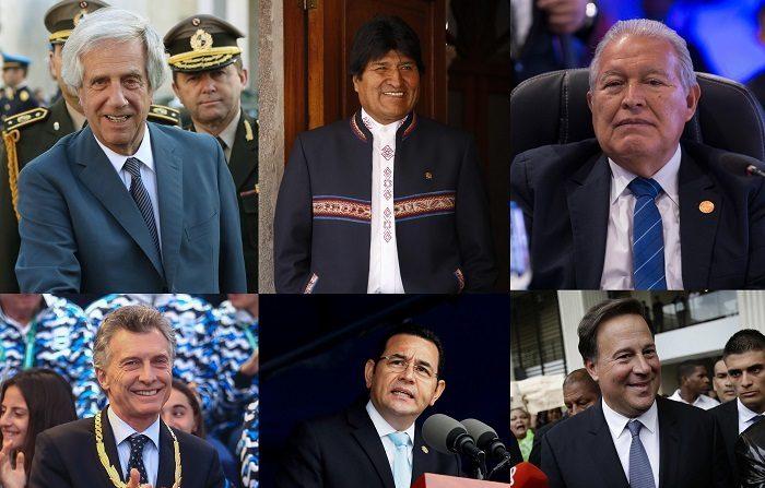Argentina, Bolivia, El Salvador, Guatemala, Panamá y Uruguay celebran este año elecciones presidenciales que completan parte del calendario electoral de la región, que arrancó en 2018 con importantes cambios políticos de envergadura en México y Brasil. EFE/ARCHIVO