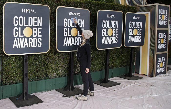 Las estrellas del cine y la televisión se citan hoy en la 76 edición de los Globos de Oro, unos galardones que cada año inauguran la temporada de premios en Hollywood. EFE/MIKE NELSON