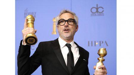 Actores mexicanos celebran el triunfo de Alfonso Cuarón en los Globos de Oro
