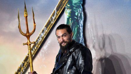 """""""Aquaman"""" reina en la taquilla estadounidense por tercera semana seguida"""