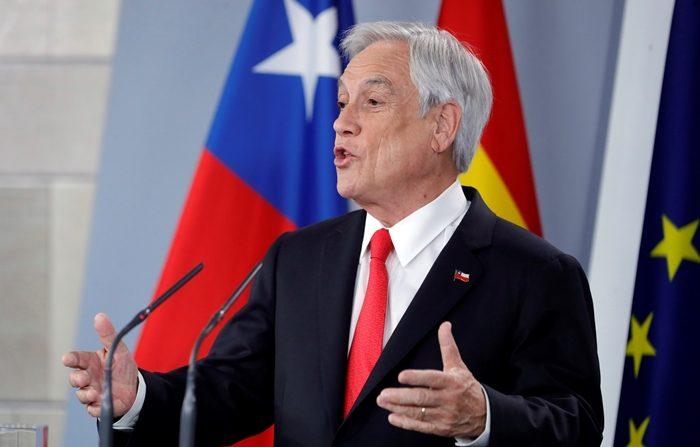 """El Gobierno de Chile expresa su """"irrestricto apoyo"""" a la Asamblea Nacional venezolana En la imagen, el presidente de Chile, Sebastián Piñera. EFE/Archivo"""