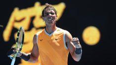 Nadal cumple ante Duckworth tras cuatro meses sin competir