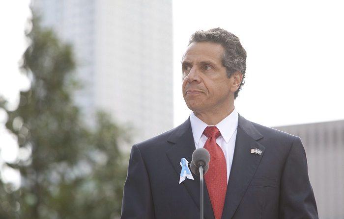 El gobernador del estado de Nueva York, Andrew M. Cuomo, ha anunciado que lanzará un programa para prohibir las bolsas de plástico como una medida para la mejora del medio ambiente. EPA/ALLAN TANNANBAUM / POOL