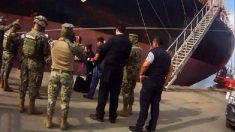 Armada de México decomisa 29 kilos de cocaína en buque procedente de Colombia