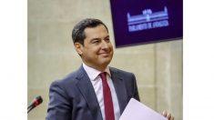Juanma Moreno, investido presidente de la Junta de Andalucía