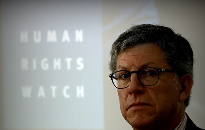 """Human Rights Watch (HRW) criticó este jueves en su informe anual la situación de los derechos humanos en Venezuela, México y Nicaragua, y aseguró que el mundo vive """"tiempos oscuros"""". EFE/Fernando Bizerra Jr."""