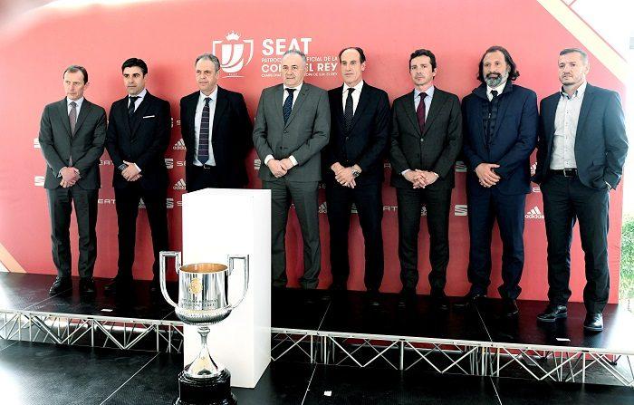 Sevilla-Barcelona, la reedición de la última final, y Real Madrid-Girona son los emparejamientos más destacados de los cuartos de final de la Copa del Rey, según el sorteo celebrado este viernes en la Ciudad del Fútbol de la Federación Española. EFE