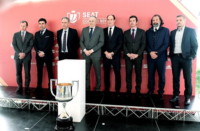 Copa del Rey: Sevilla-Barcelona y Real Madrid-Girona, en ...